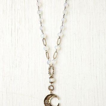 Free People Moon Crystal Rosary