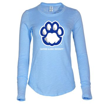 NCAA Eastern Illinois University Panthers Women's Slub Tee Shirt