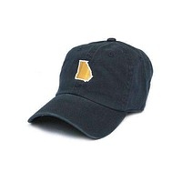 GA Atlanta Gameday Hat in Navy by State Traditions