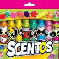 Scentos Scented Chisel Tip Markers (40640)