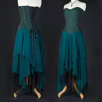 Green Corset Dress