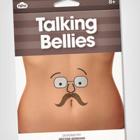 Talking Bellies Temporary Tattoos
