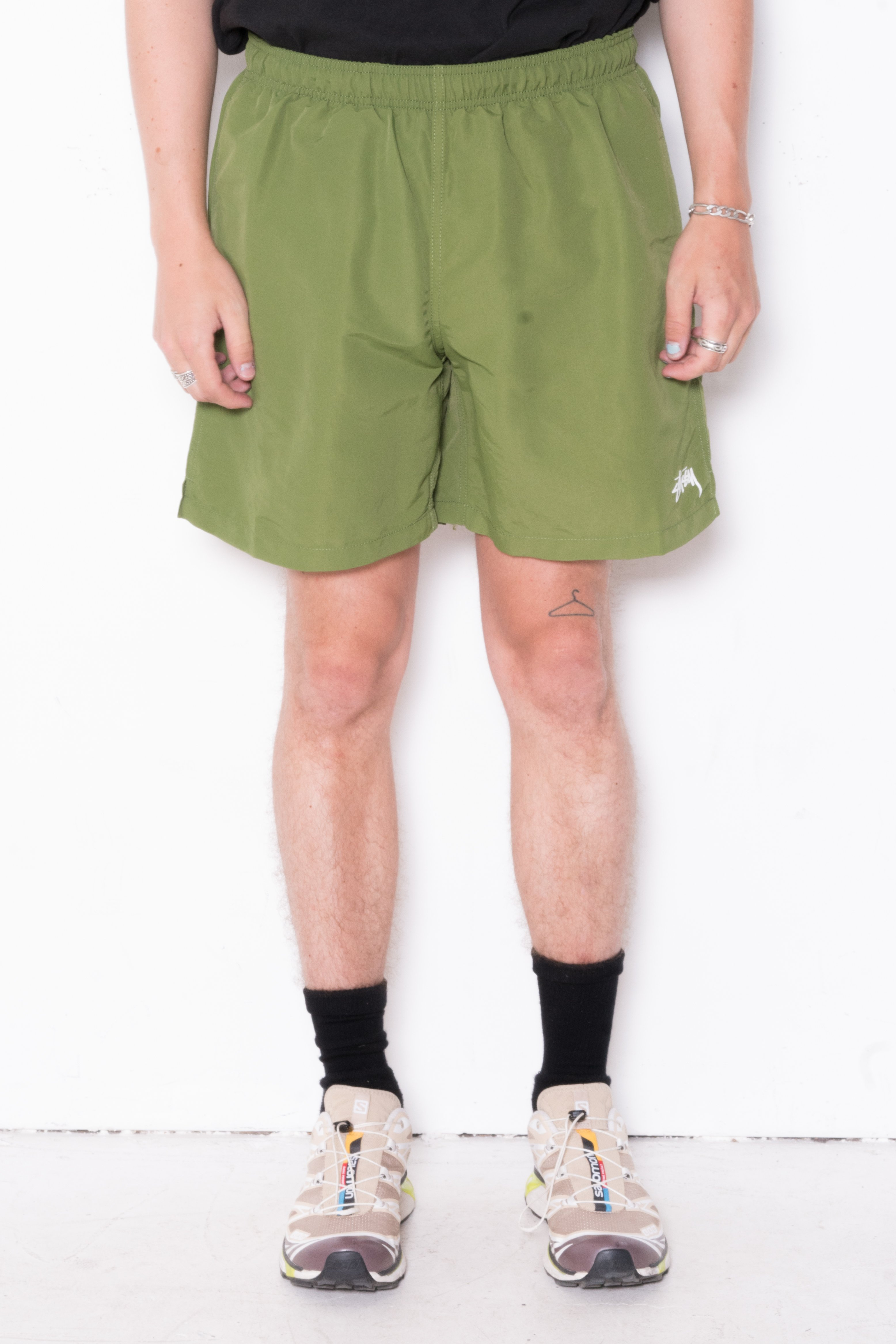 Image of Stussy Stock Water Short In Green
