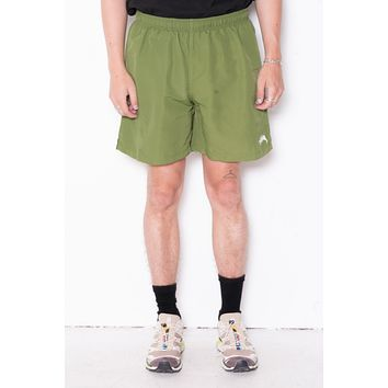 Stussy Stock Water Short In Green