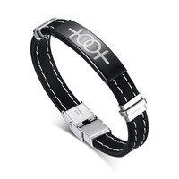 Fashion women gay pride bangle bracelet silicone stainless steel charm for gay lady jewelry