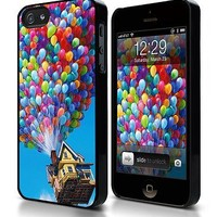 TIP5-089 Up - Flying House 02, Iphone 5 Case, Hard Plastic, Shipping Worldwide