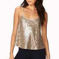 Glam Hour Sequined Cami