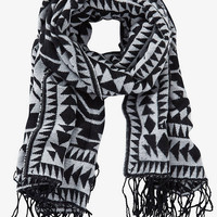 Reversible Southwestern Blanket Scarf from EXPRESS