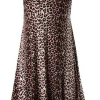 Leopard Knitted Dress