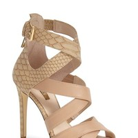 """Women's GUESS 'Abby' Strappy Sandal, 4 1/2"""" heel"""