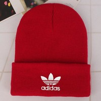 Adidas Fashion Edgy Winter Beanies Knit Hat Cap-17
