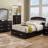 Alpine Madison California King Storage Bed