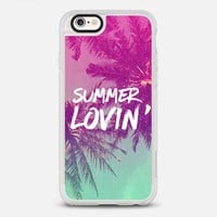 Pink Green Ombre Sunset Beach Tropical Palm Trees Summer Lovin'  iPhone 6s case by hyakume   Casetify