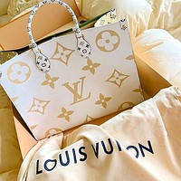 Louis Vuitton classic color matching printing fashion casual ladies handbag shoulder messenger bag