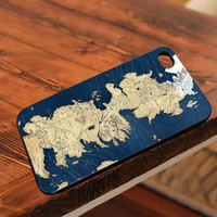 Game of thrones Map customized for iphone 4/4s/5/5s/5c, samsung galaxy s3/s4/s5 and ipod 4/5 cases