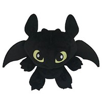 "How to Train Your Dragon 11.8"" / 30cm Toothless Plush Black Doll Stuffed Animals Figure Soft Anime Collection Toy by Latim"