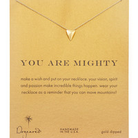 Mighty Golden Stud Pendant Necklace - Dogeared