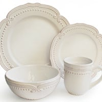 16-Pc Victoria Dinnerware Set, Place Settings