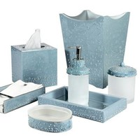 Mike & Ally Caviar Bath & Vanity Collection   Wintersky