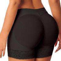 Woman Boyshort Padded Panties  Ladies Seamless Fake Ass Hip Enchance Underwear Women Butt Trainer Lifter Body Shaper SM6