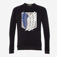 Survey Corps fleece crewneck sweatshirt