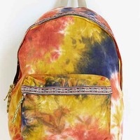 Spurling Lakes Tie-Dye Backpack- Yellow One