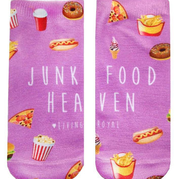 Junk Food Heaven Ankle Socks