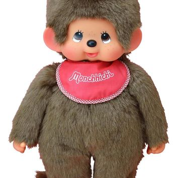 Monchhichi Classic Boy - Red - Classic 70's and 80's Toys