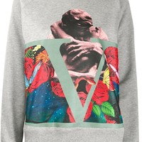 "Ladies Undercover ""Statue of Roses"" Graphic Sweatshirt by Valentino"