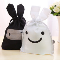 Stuff Bag Cute Lovely Storage Cotton Rabbit Bags = 4877860996