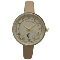 Olivia Pratt Women's Astronomical Wonders Genuine Leather Watch | Overstock.com Shopping - The Best Deals on More Brands Women's Watches