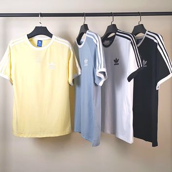 adidas Originals Three Stripe Boyfriend T-Shirt