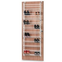 Whitmor 36 Pair Over-the-Door Shoe Rack