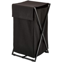 Icon Foldable Hamper Laundry Organizer Basket With Removable and Washable Bag