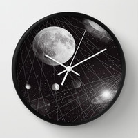 STELLAR. Wall Clock by DuckyB (Brandi)