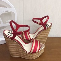 Gucci Women Casual Shoes Boots fashionable casual leather Women Heels Sandal Shoes created created created created created