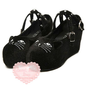 Studded Sneaky Kitty Platforms