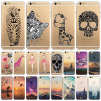 "Phone Case Cover For iPhone 6 4.7"", Ultra Soft, Transparent"