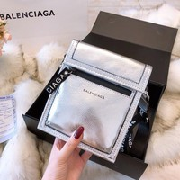 Balenciaga Leather Crossbody Shoulder bag