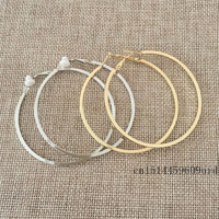 Trendy Zinc Alloy Metal Clip Earrings For Women Rh0012