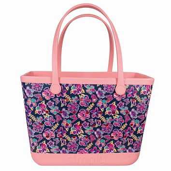 Simply Southern Large Butterfly Beach Waterproof Washable Tote Bag