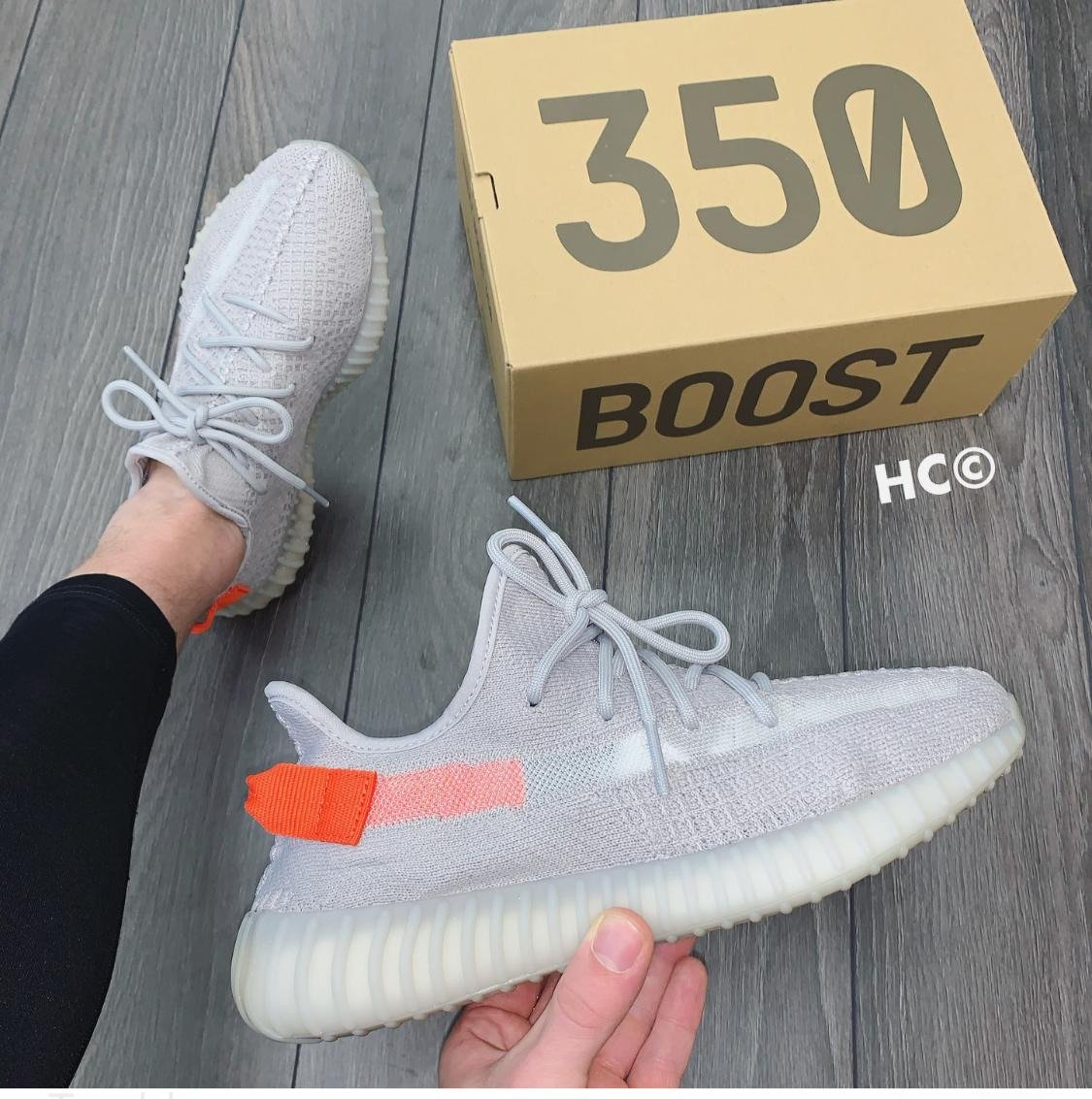 Image of Adidas Yeezy 350 Boost V2 gym shoes