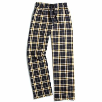Boxercraft Black and Gold Flannel Pant