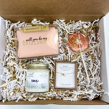 Will You Be My Bridesmaid Gift Bundle #3
