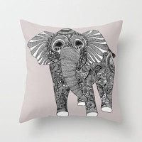 Ellie Throw Pillow by lush tart | Society6