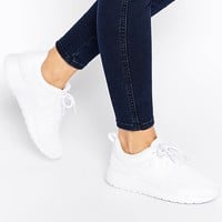 Nike Roshe Run White Trainers