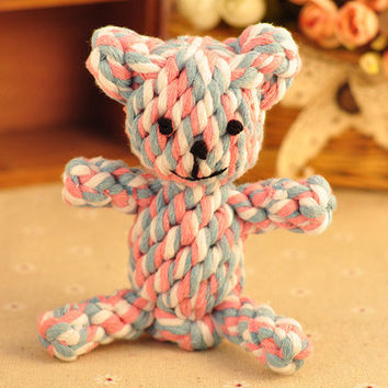Pets Dogs Handcrafts Lovely Animal Cotton Toy [6343753606]