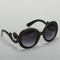 Black Baroque Sunglasses