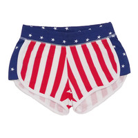 American Flag Sport Shorts (XS Only)