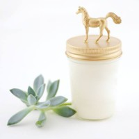 Foaling Around | Horse Vegan Candle